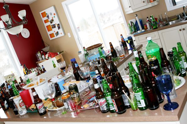 after party cleaning, After Party Cleaning