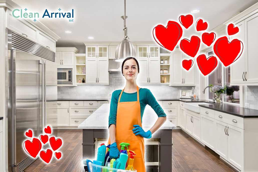Valentines Day Cleaning Service
